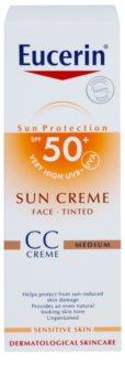Eucerin Sun СС крем SPF 50+
