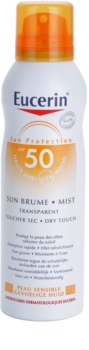 Eucerin Sun Transparent Sunscreen Mist SPF 50
