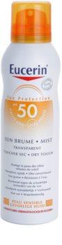 Eucerin Sun transparentná hmla na opaľovanie SPF 50