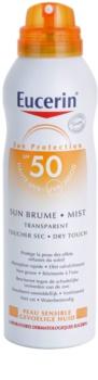 Eucerin Sun transparentní mlha na opalování SPF 50