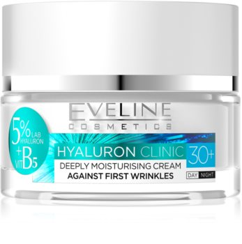 Eveline Cosmetics Hyaluron Clinic Moisturising Day and Night Cream 30+