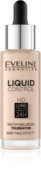 Eveline Cosmetics Liquid Control tekoči puder s pipeto