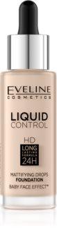 Eveline Cosmetics Liquid Control тональний крем  з піпеткою