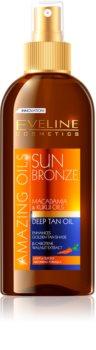 Eveline Cosmetics Sun Care olej pre zvýraznenie opálenia