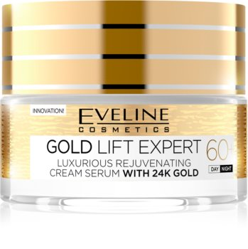 Eveline Cosmetics Gold Lift Expert Day and Night Cream 60+ With Rejuvenating Effect