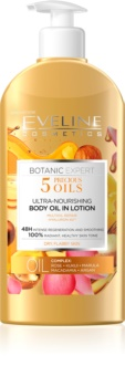 Eveline Cosmetics Botanic Expert odżywcze mleczko do ciała do skóry suchej