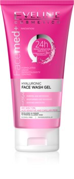 Eveline Cosmetics FaceMed+ Cleansing Gel 3 In 1 with Hyaluronic Acid