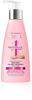 Eveline Cosmetics Revitaplex crema lisciante per mani e unghie