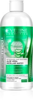 Eveline Cosmetics FaceMed+ eau micellaire à l'aloe vera