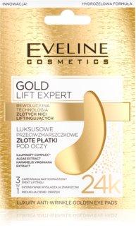 Eveline Cosmetics Gold Lift Expert maschera occhi contro gonfiori e occhiaie