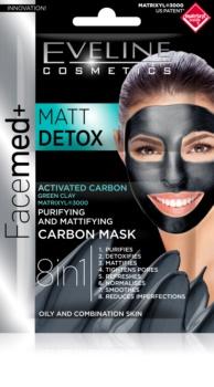 Eveline Cosmetics FaceMed+ maschera viso per pelli grasse e miste