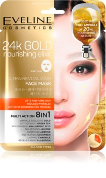 Eveline Cosmetics 24k Gold Nourishing Elixir liftinges maszk