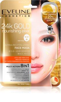 Eveline Cosmetics 24k Gold Nourishing Elixir Lyftande mask