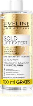 Eveline Cosmetics Gold Lift Expert čistilna micelarna voda za zrelo kožo