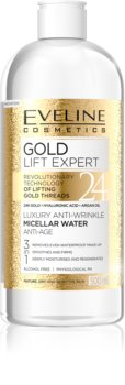 Eveline Cosmetics Gold Lift Expert Cleansing Micellar Water for Mature Skin