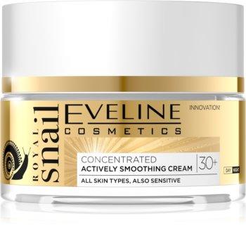 Eveline Cosmetics Royal Snail gladilna dnevna in nočna krema 30+