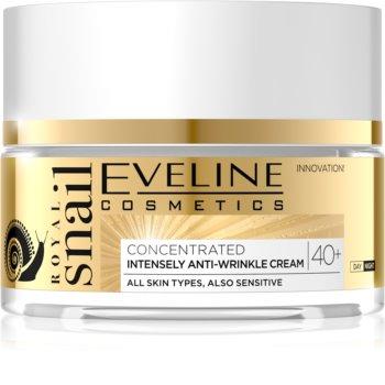 Eveline Cosmetics Royal Snail dnevna in nočna krema proti gubam 40+