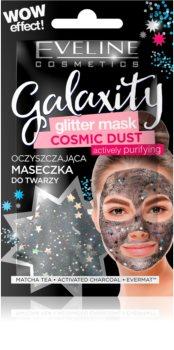 Eveline Cosmetics Galaxity Glitter Mask maschera detergente con glitter