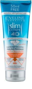 Eveline Cosmetics Slim Extreme gel de ducha exfoliante para masaje contra la celulitis