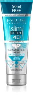 Eveline Cosmetics Slim Extreme karcsúsító és feszesítő szérum a narancsbőr ellen hialuronsavval