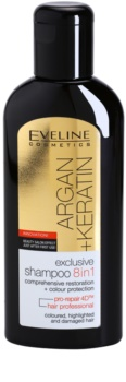 Eveline Cosmetics Argan + Keratin Shampoo  8in1