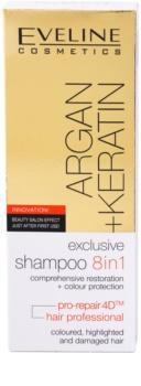 Eveline Cosmetics Argan + Keratin sampon 8 in 1
