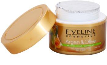 Eveline Cosmetics Argan & Olive crema de día hidratante  antiarrugas