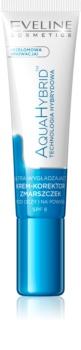 Eveline Cosmetics Aqua Hybrid crème yeux anti-cernes et anti-rides SPF 8