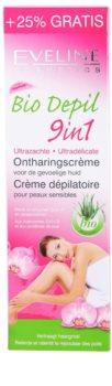Eveline Cosmetics Bio Depil szőrtelenítő krém az érzékeny bőrre