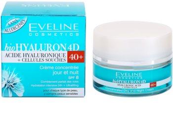 Eveline Cosmetics BioHyaluron 4D crème jour et nuit 40+