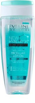Eveline Cosmetics BioHyaluron 4D eau micellaire nettoyante pour peaux grasses et mixtes