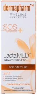 Eveline Cosmetics Dermapharm LactaMED Gel für die intime Hygiene 3 in1