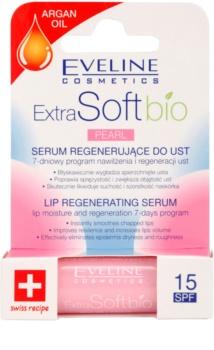 Eveline Cosmetics Extra Soft Bio sérum regenerador para labios