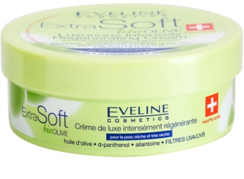 Eveline Cosmetics Extra Soft creme intensivo regenerador  para pele seca a muito seca