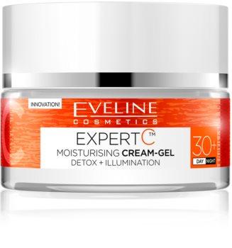 Eveline Cosmetics Expert C hydratačný gélový krém na deň a noc 30+