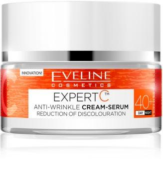 Eveline Cosmetics Expert C denný a nočný krém proti vráskam 40+