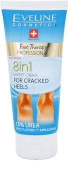 Eveline Cosmetics Foot Therapy krém na rozpraskané paty 8 v 1