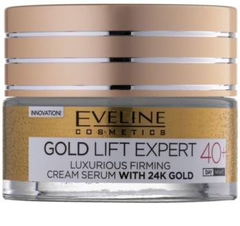 Eveline Cosmetics Gold Lift Expert luxusní zpevňující krém s 24 karátovým zlatem