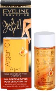 Eveline Cosmetics Argan Oil Just Epil! aceite regenerador después de la depilación