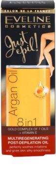 Eveline Cosmetics Argan Oil Just Epil! regeneráló olaj szőrtelenítés után