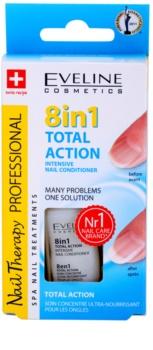 Eveline Cosmetics Nail Therapy acondicionador para uñas  8 en 1