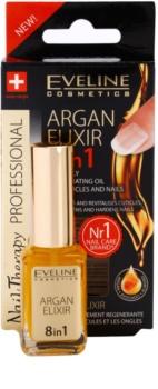 Eveline Cosmetics Nail Therapy elixir regenerant unghii si cuticule