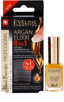 Eveline Cosmetics Nail Therapy відновлюючий еліксир для нігтів та кутикули