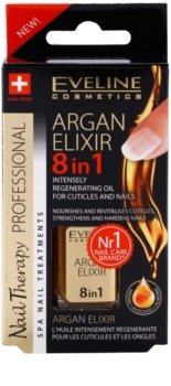 Eveline Cosmetics Nail Therapy regeneráló elixír a körmökre és a körömbőrre
