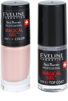 Eveline Cosmetics Nail Therapy Professional gel lak za nohte brez uporabe UV/LED lučke