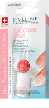 Eveline Cosmetics Nail Therapy Professional vlažilna nega za nohte s kalcijem in mlečnimi proteini