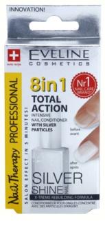 Eveline Cosmetics Nail Therapy Professional kondicionér na nechty s trblietkami