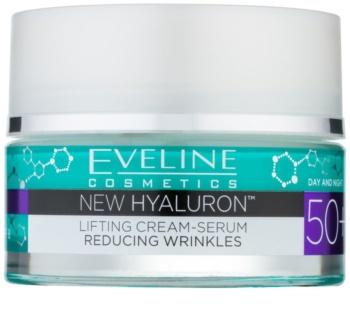Eveline Cosmetics New Hyaluron crema alisadora SPF 8