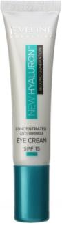 Eveline Cosmetics New Hyaluron vyhladzujúci očný krém SPF 15