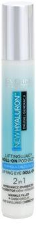 Eveline Cosmetics New Hyaluron liftingový oční roll-on s chladivým efektem 2v1